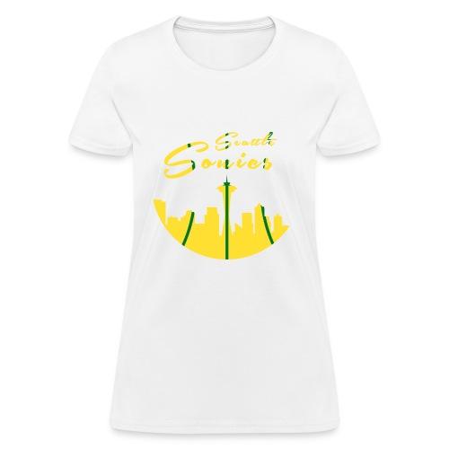 Seattle Sonics Womans T - Women's T-Shirt