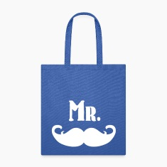 Mr. Mustache Bags & backpacks