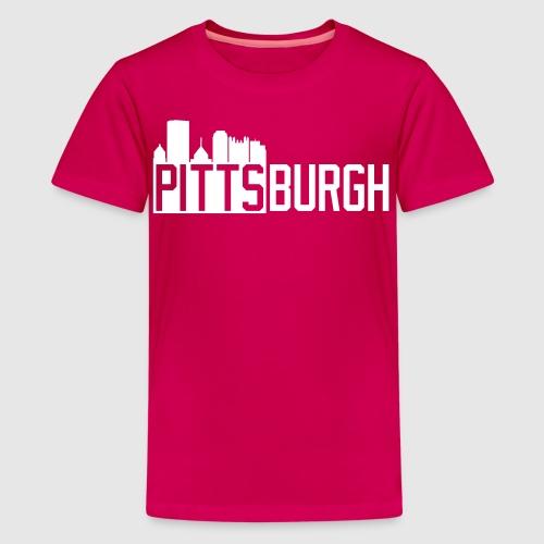 Pittsburgh Skyline - Kids' Premium T-Shirt