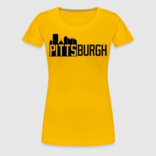 Pittsburgh Skyline - Women's Premium T-Shirt