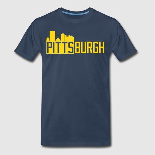 Pittsburgh Skyline - Men's Premium T-Shirt
