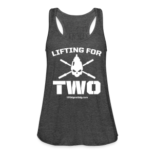 Lifting For Two tank - Women's Flowy Tank Top by Bella