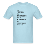 T-Shirts ~ Men's T-Shirt ~ James 5:16 Power Shirt