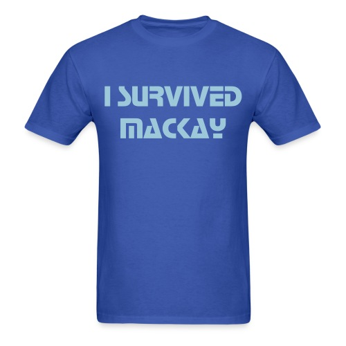 I SURVIVED MACKAY MEN'S T-SHIRT - Men's T-Shirt