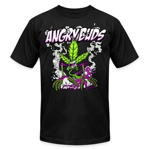Angry Buds - Men's Fine Jersey T-Shirt