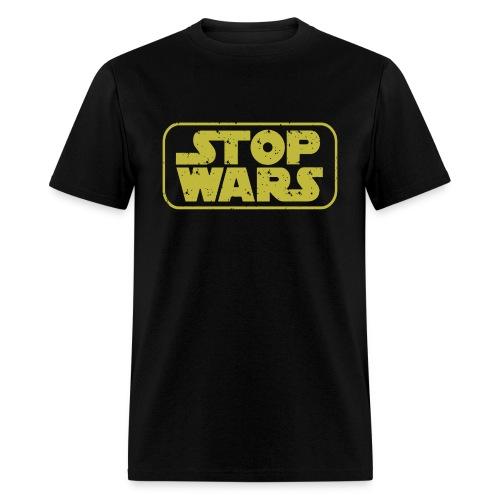 Stop Wars Funny - Men's T-Shirt