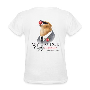 Wyndridge Crafty Cranberry Cider - Women's White T - Women's T-Shirt