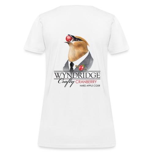 Wyndridge Crafty Cranberry Cider - Women's White T - Women's T-Shirt
