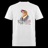 T-Shirts ~ Men's T-Shirt ~ Wyndridge Crafty Cranberry Cider - Men's Lt Gray T