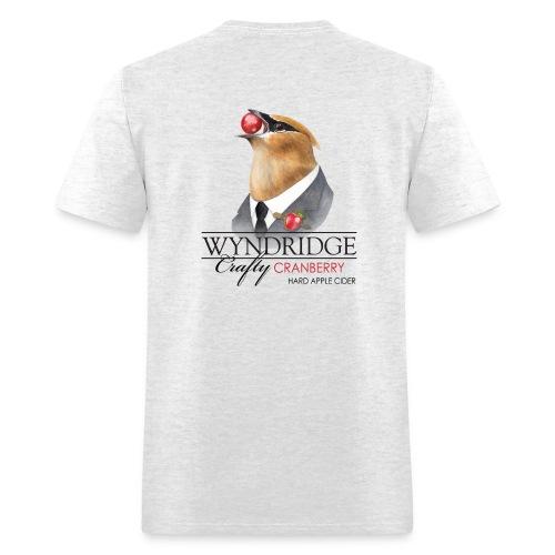 Wyndridge Crafty Cranberry Cider - Men's Lt Gray T - Men's T-Shirt