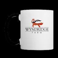 Mugs & Drinkware ~ Contrast Coffee Mug ~ Wyndridge Farm Crafty Coffee Mug
