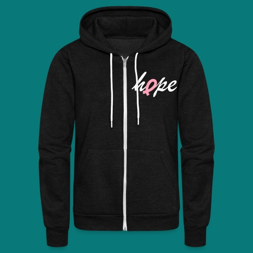 Men's Hope - Unisex Fleece Zip Hoodie