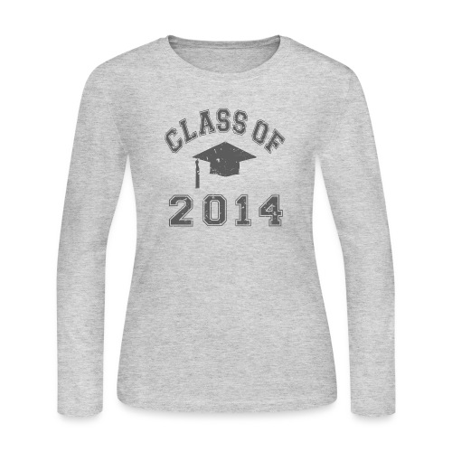 Shirt, Class of 2014, women - Women's Long Sleeve Jersey T-Shirt
