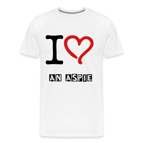Love an Aspie 4 - Men's Premium T-Shirt