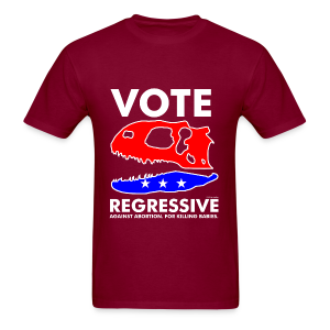 Vote REGRESSIVE! - Men's T-Shirt