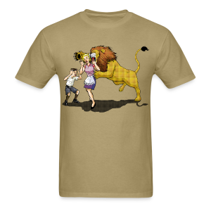LION ATTACK - Men's T-Shirt