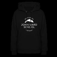 Hoodies ~ Women's Hoodie ~ WHITE LOGO -Women's Hooded Sweatshirt