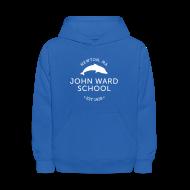 Sweatshirts ~ Kids' Hoodie ~ WHITE LOGO - Kid's Hooded Sweatshirt - Multiple color choices available
