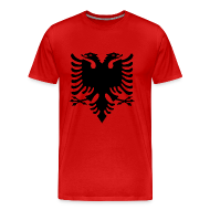 T-Shirts ~ Men's Premium T-Shirt ~ flag of albania T-Shirts
