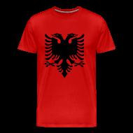 T-Shirts ~ Men's Premium T-Shirt ~ flag of albania T-Shirts