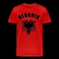 T-Shirts ~ Men's Premium T-Shirt ~ albania coat of arms T-Shirts
