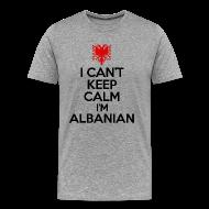T-Shirts ~ Men's Premium T-Shirt ~ i'm albanian T-Shirts