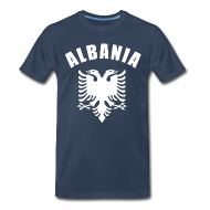 T-Shirts ~ Men's Premium T-Shirt ~ albania coat of arms T-Shirts