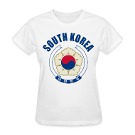 Women's T-Shirts ~ Women's T-Shirt ~ south korea coat of arms Women's T-Shirts