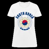 Women's T-Shirts ~ Women's T-Shirt ~ south korea coat of arms Women's T-Shirts