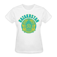 Women's T-Shirts ~ Women's T-Shirt ~ kazakhstan coat of arms Women's T-Shirts