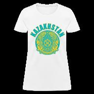 Women's T-Shirts ~ Women's T-Shirt ~ kazakhstan coat of arms Women's T-Shirts
