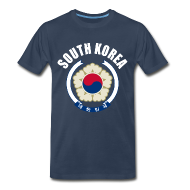 T-Shirts ~ Men's Premium T-Shirt ~ south korea coat of arms T-Shirts