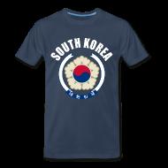 T-Shirts ~ Men's Premium T-Shirt ~ south korea coat of arms T-Shirts
