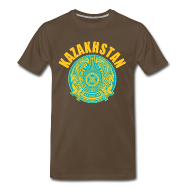 T-Shirts ~ Men's Premium T-Shirt ~ kazakhstan coat of arms T-Shirts