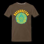 T-Shirts ~ Men's Premium T-Shirt ~ kazakhstan coat of arms T-Shirts
