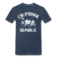 T-Shirts ~ Men's Premium T-Shirt ~ california republic T-Shirts