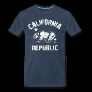 T-Shirts ~ Men's Premium T-Shirt ~ california republic T-Shirts