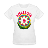Women's T-Shirts ~ Women's T-Shirt ~ Azerbaijan coat of arms Women's T-Shirts