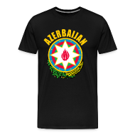 T-Shirts ~ Men's Premium T-Shirt ~ Azerbaijan coat of arms T-Shirts