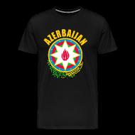 T-Shirts ~ Men's Premium T-Shirt ~ Azerbaijan coat of arms T-Shirts