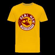 T-Shirts ~ Men's Premium T-Shirt ~ real men wakeboard T-Shirts
