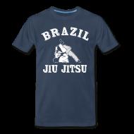T-Shirts ~ Men's Premium T-Shirt ~ brazil jiu jitsu T-Shirts