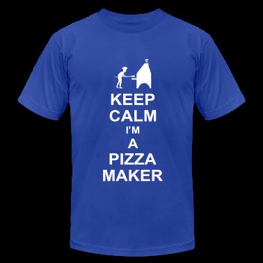 keep calm i 39 m a pizza maker g1 t shirt spreadshirt