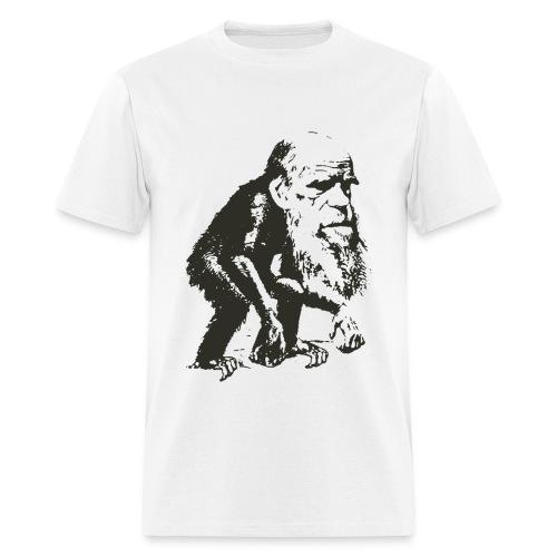 Charles Darwin Ape Evolution - Men's T-Shirt