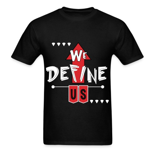 #wedefineus Red - Men's T-Shirt