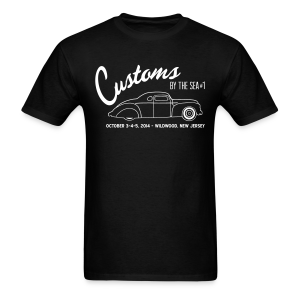Customs by the Sea - 2014 - Men's T-Shirt
