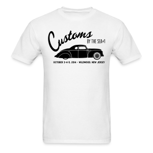 Customs by the Sea - 2014 - White - Men's T-Shirt