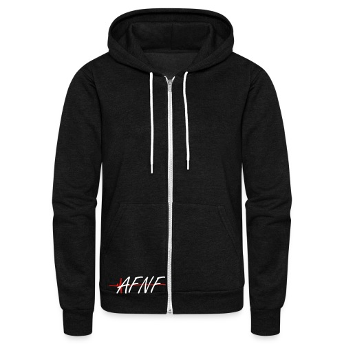 AFNF Zipped Up - Unisex Fleece Zip Hoodie