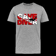 T-Shirts ~ Men's Premium T-Shirt ~ cave diver T-Shirts
