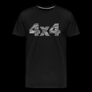 T-Shirts ~ Men's Premium T-Shirt ~ 4x4 camouflage T-Shirts